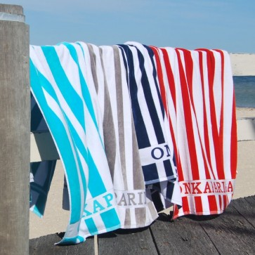 Onkaparinga Striped Pool Towels