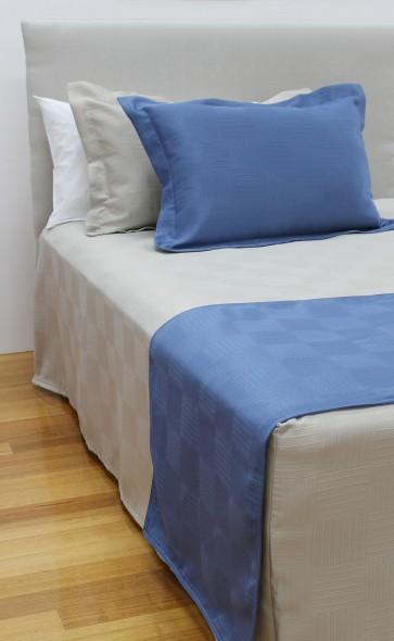 Haven Jacquard Bedspreads Sand