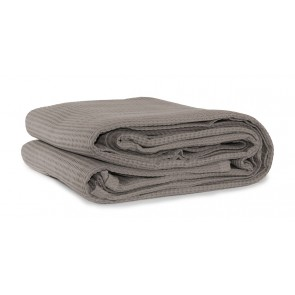 Cotton Waffle Blankets Latte
