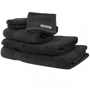 Ethan Towel Collection Charcoal