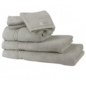 Ethan Towel Collection Silver