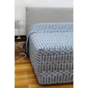 Linx Printed Bedspread Denim