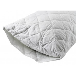 Heavenly Dreams Quilted Cotton Pillow Protector - Standard