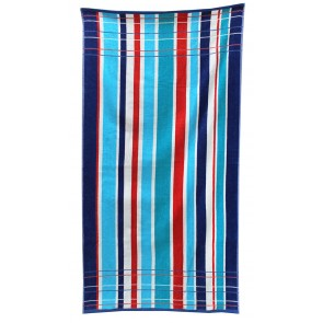 Jacquard Static Stripe Pool Towel