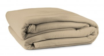 Polar Fleece Blankets - Camel
