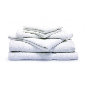 Commercial Plain Bath Towels - White