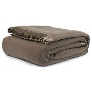Jason Australian Wool Blanket - Taupe