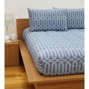 Linx Printed Comforters Denim