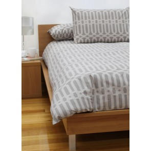 Linx Printed Quilt Cover Sets Sand