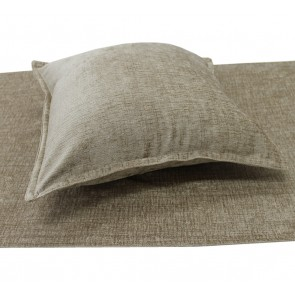 Parker Chenille Bed Runners & Cushions - Mocha