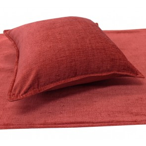 Parker Chenille Bed Runners & Cushions - Russet
