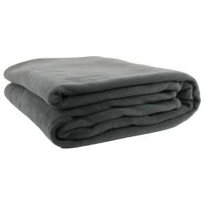 Polar Fleece Blankets - Charcoal