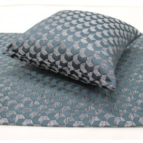 Regency Jacquard Bed Runners & Cushion – Ocean