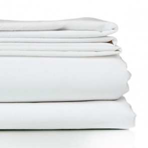 Crisp Sheets & Pillowcases - White